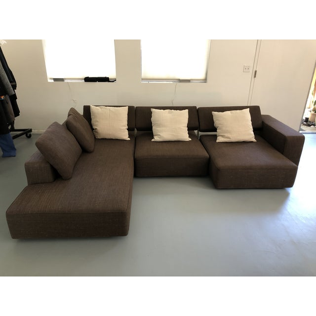2010s B&b Italia Andy Sectional Sofa by Paolo Piva For Sale - Image 5 of 8