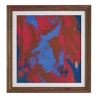 Colorful Chalk Pastel Abstract by Oscar Murillo For Sale