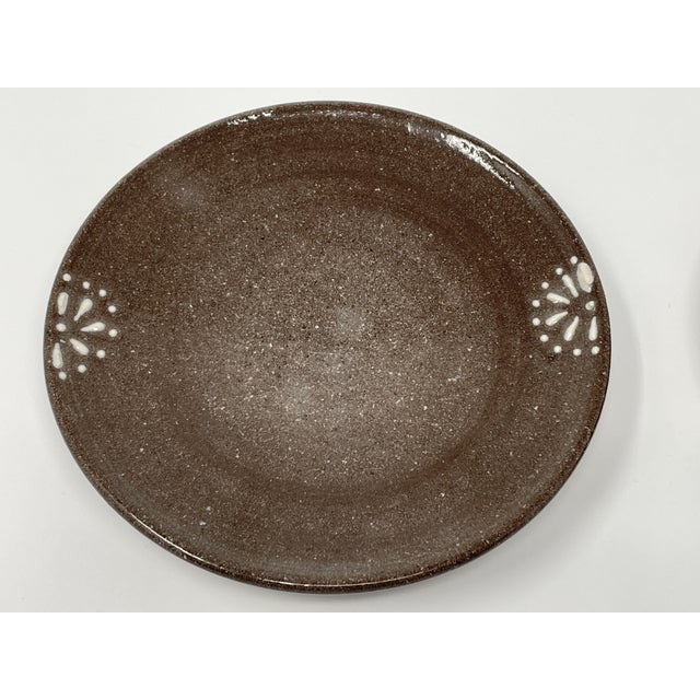 This beautiful pair of plates are hand crated pieces by a Georgia artist. They are each an earthenware piece made out of...