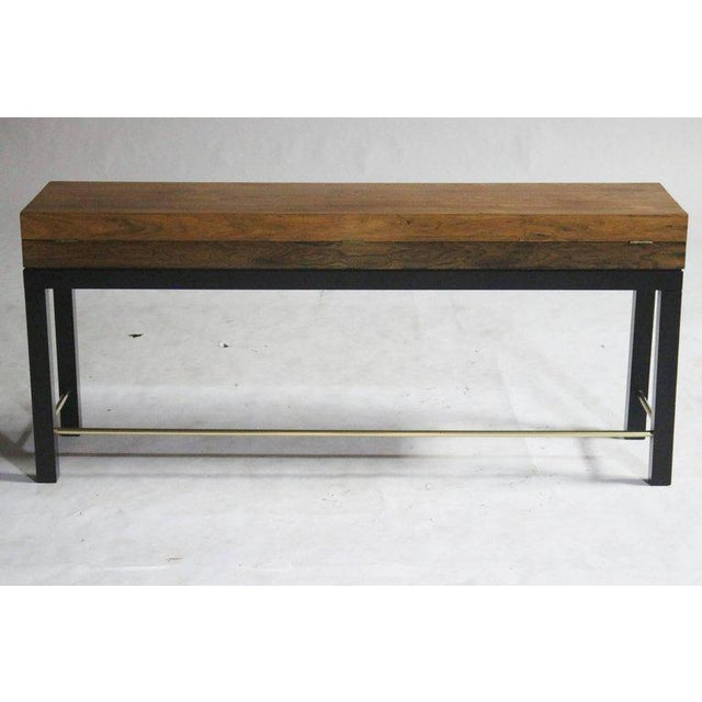 1960s Rosewood Console Chest For Sale - Image 5 of 7