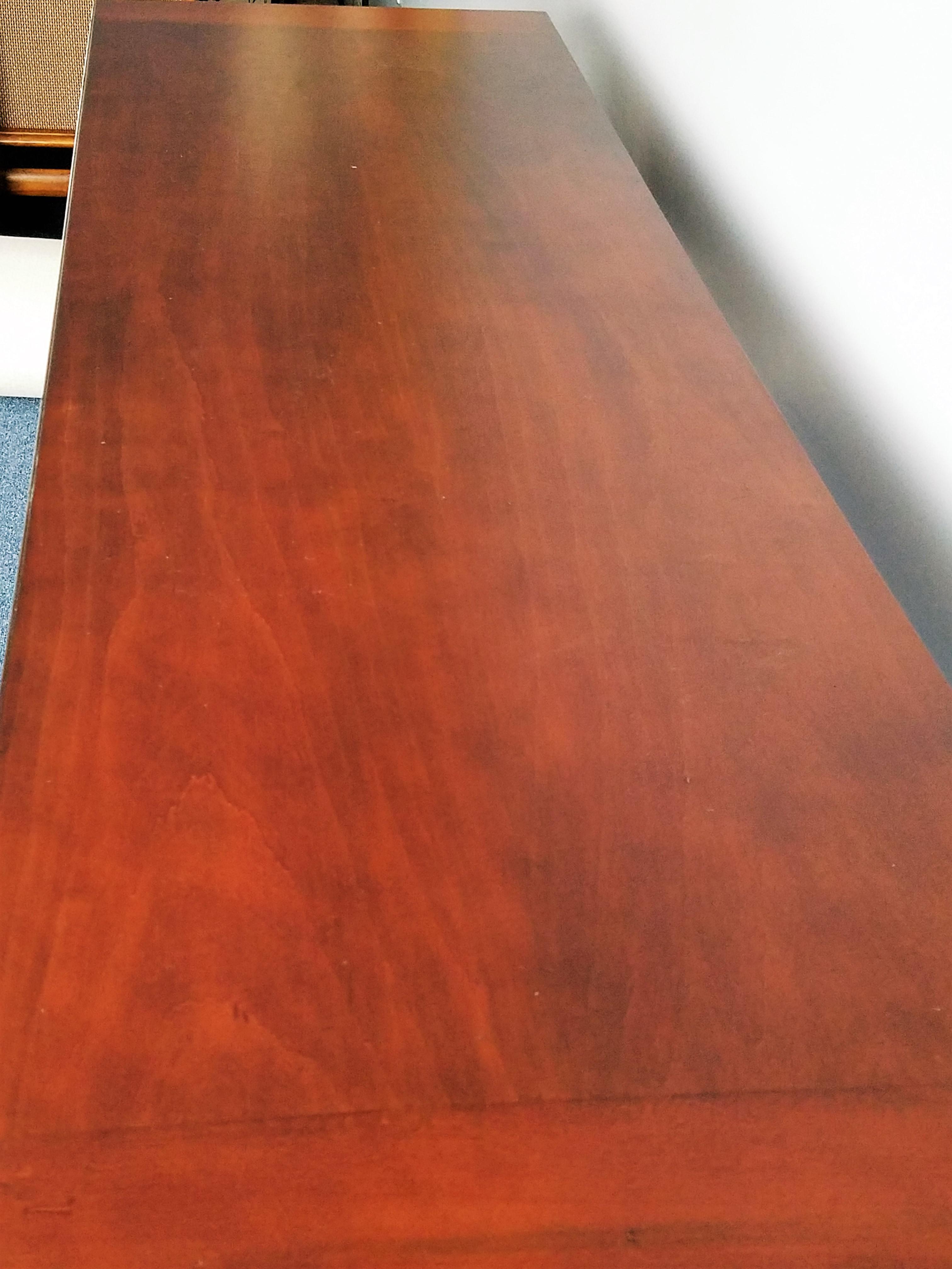 Ethan Allen Mahogany Sofa Table Desk Chairish