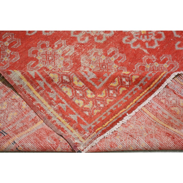 """Late 20th Century Antique Khotan Rug,6'6""""x10'2"""" For Sale - Image 5 of 6"""