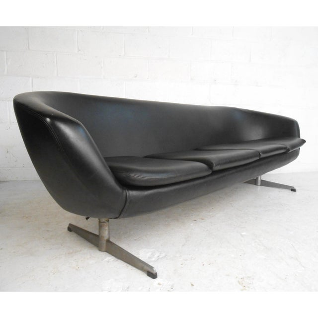 Mid-Century Overman Four-Seat Sofa - Image 3 of 9