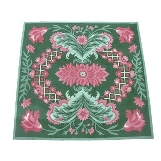 Edward Fields Floral Rug - 7' X 7' For Sale