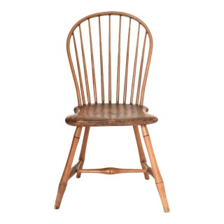 Antique 18th-Century Bow Back Windsor Chair For Sale