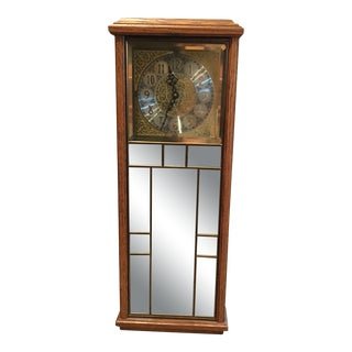 1980s Ansonia Quartz Reflections Chiming Clock For Sale
