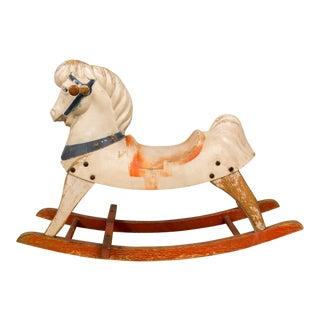 Antique Rustic Rocking Horse