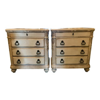 1990s Laura Ashley Home by Kincaid Furniture Nightstands - a Pair For Sale