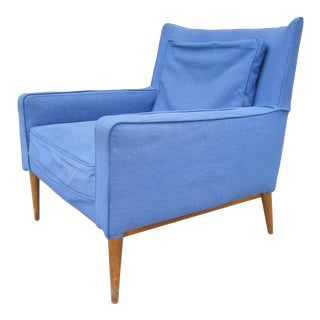 1950s Vintage Paul McCobb 302 Lounge Club Chair For Sale