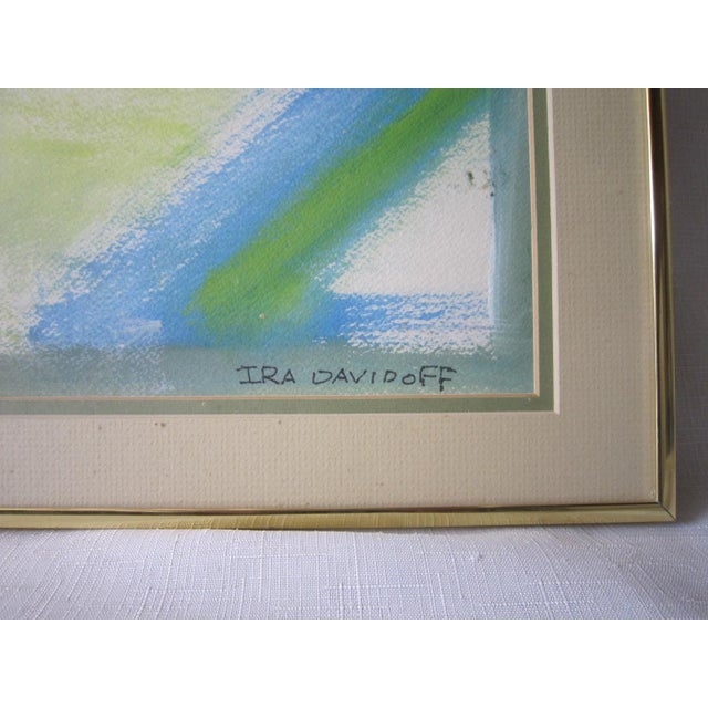 Abstract Painting, Signed Davidoff For Sale - Image 4 of 6