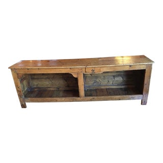 Late 18th Century Pine Counter For Sale