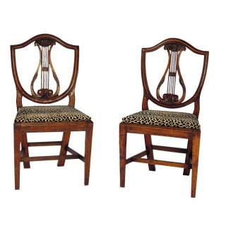 19th Century Italian Side Chairs - a Pair For Sale