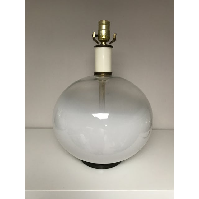 Glass Murano Art Glass Vistosi Table Lamp For Sale - Image 7 of 7