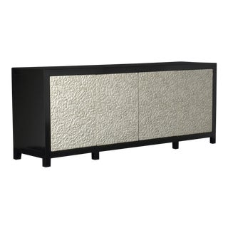Floral Buffet - Cream Lacquer For Sale