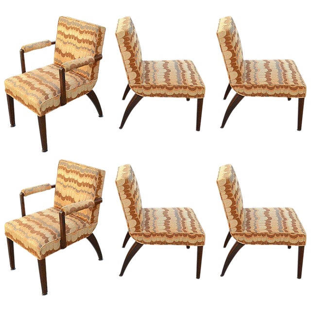 1940s Gilbert Rohde for Herman Miller Dining Chairs - Set of 6 For Sale