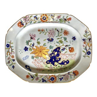 Mason's Ironstone Platter For Sale