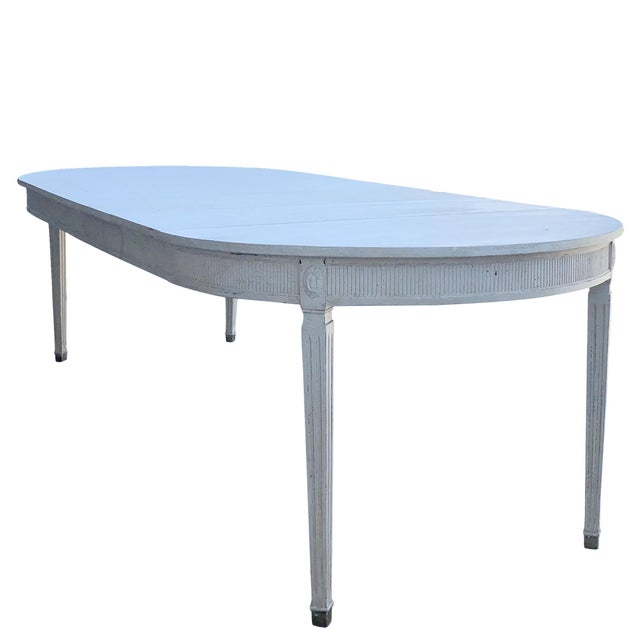 Early 19th Century 19th Century Gustavian Extension Dining Table For Sale - Image 5 of 9
