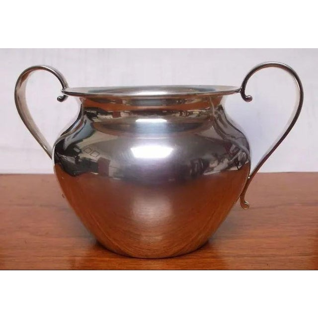 Sterling Silver Sugar and Creamer by International Silver Co. For Sale - Image 6 of 11