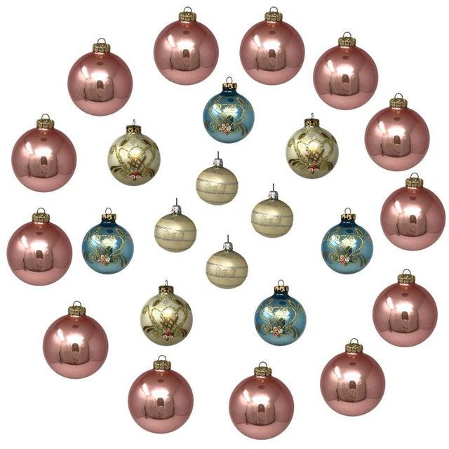 Vintage Italian & Polish Christmas Holiday Glass Ornaments - Collection of 24 For Sale - Image 12 of 12