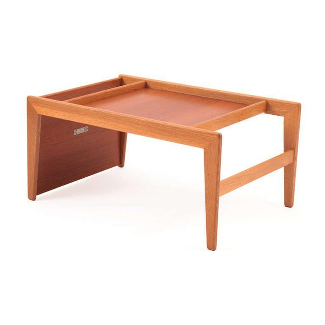 Mid-Century Modern Sculptural Teak & Mahogany Serving Tray For Sale - Image 3 of 7