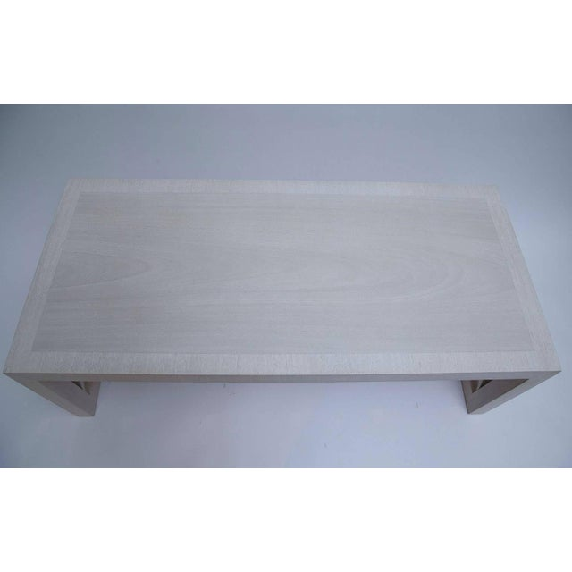 American Bleached Mahogany Coffee Table by T. H. Robsjohn-Gibbings For Sale - Image 3 of 10