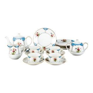 Late 18th Century Tableware Noritake Child's Tea Service - Set of 15 For Sale