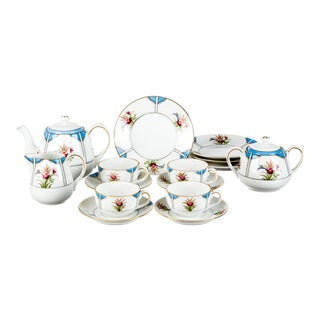 Vintage Late 18th Century Noritake Child's Tea Service - Set of 15/Reduced Final For Sale