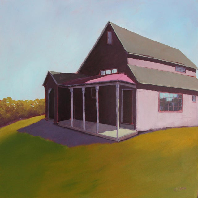 """Carol C Young """"Ken's Barn"""" Painting, 2019 For Sale In New York - Image 6 of 6"""