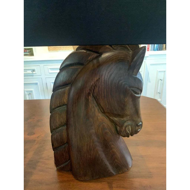 Mid 20th Century William Billy Haines Horse Head Lamps - a Pair For Sale In Los Angeles - Image 6 of 13