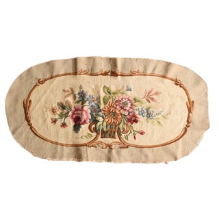 Antiqe French Tapestry Fragment For Sale