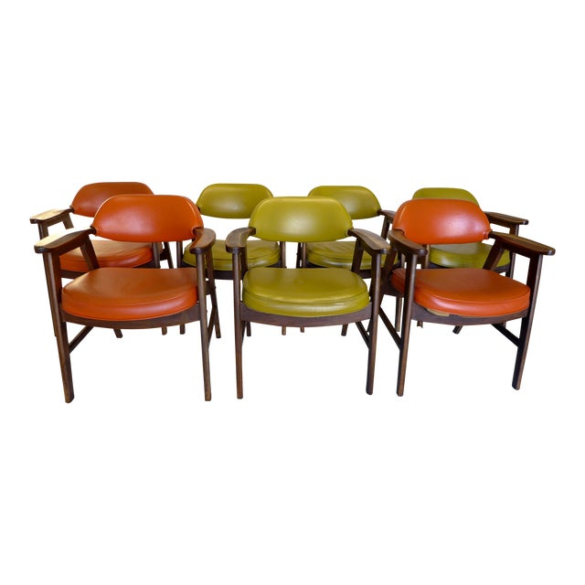 Delwood Coffee Table.Mid Century Delwood Dining Chairs Set Of 4