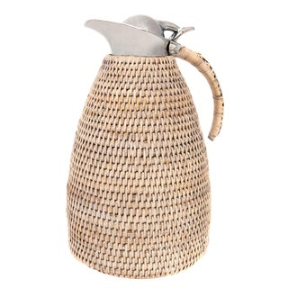 Artifacts Rattan 1.5 Liter Thermos For Sale