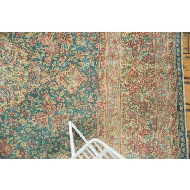 Vintage Distressed Kerman Carpet - 10' X 16' For Sale - Image 10 of 13