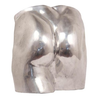 Early 20th Century Aluminum Cast Nude Posterior Sculpture For Sale