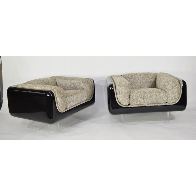 Mid-Century Modern William Andrus for Steelcase Lounge Chairs - A Pair For Sale - Image 3 of 10
