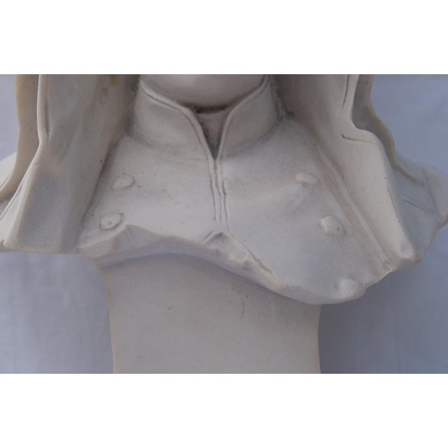 Antique Parian Bust of Napoleon Bonaparte For Sale In New York - Image 6 of 13