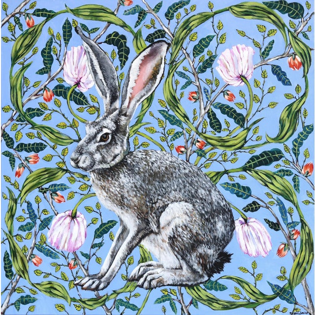 """Jack Rabbit"" Original Artwork by Naomi Jones For Sale - Image 9 of 9"