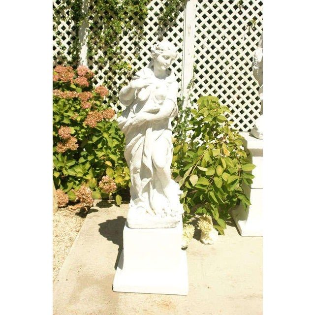 Neoclassical The Four Seasons on Plinths For Sale - Image 3 of 8