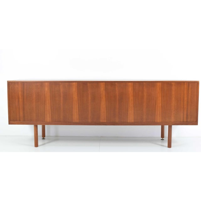 Mid-Century Modern Danish Teak Sideboard/Credenza, Jens Risom Attributed For Sale - Image 3 of 8