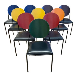 Dakota Jackson Vik-Ter 1 Dining Chairs - Set of Ten For Sale