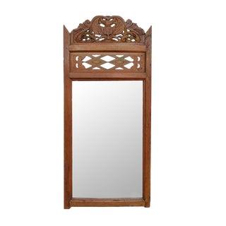 Balinese Teak Mirror Frame For Sale