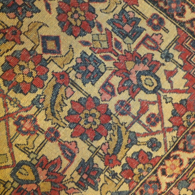 Antique Persian Isfahan Rug - 4' x 3' - Image 4 of 5