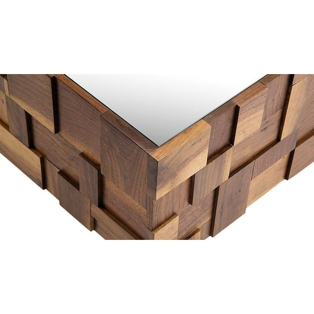 The Matrix Coffee Table is a great piece for any interior concept. Produced of a solid wood frame, decorated in a matrix...
