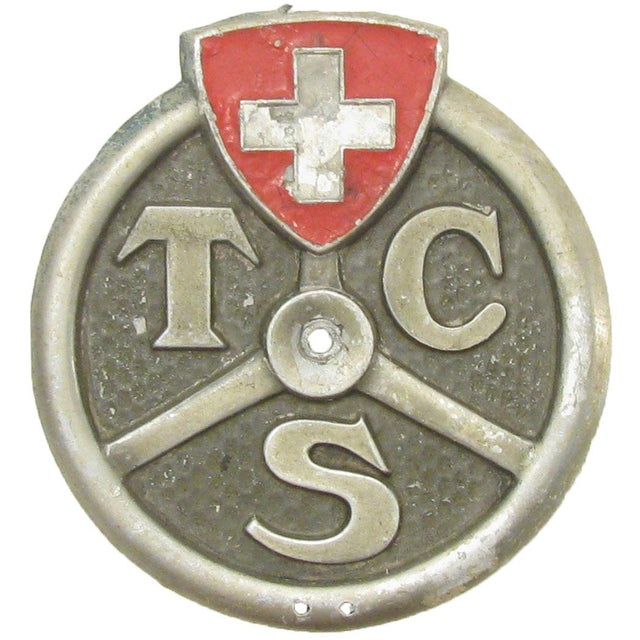 Belgian European Auto & Bicycle Shield Collection, S/4 For Sale - Image 3 of 5