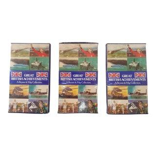 Great British Achievements Commemorative Matches Set of 3