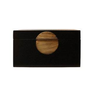 Chinese Black Rectangular Shape Container Box For Sale