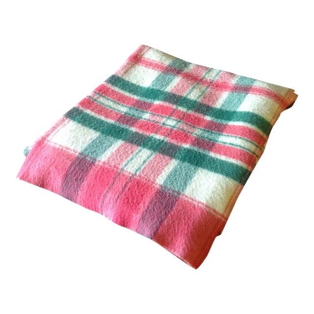 Vintage Plaid Picnic/Gameday Blanket - Image 1 of 11