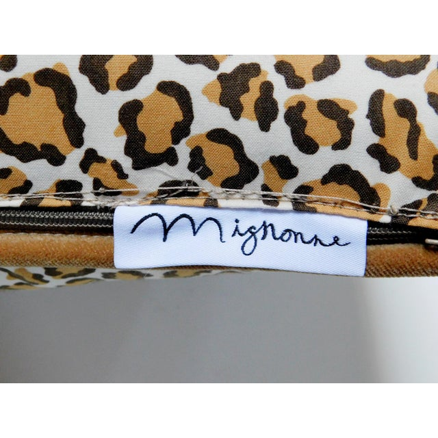 Safari Cheetah Print Lumbar Pillow For Sale - Image 3 of 7