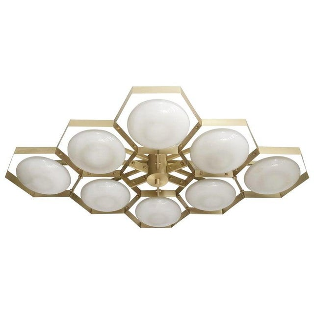 Hive Flush Mount by Fabio Ltd For Sale - Image 13 of 13