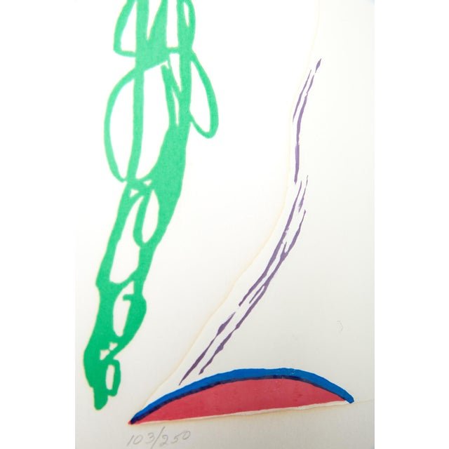 "Blue ""Flowers in Her Hair,"" Frank Gallo Signed Serigraph For Sale - Image 8 of 9"